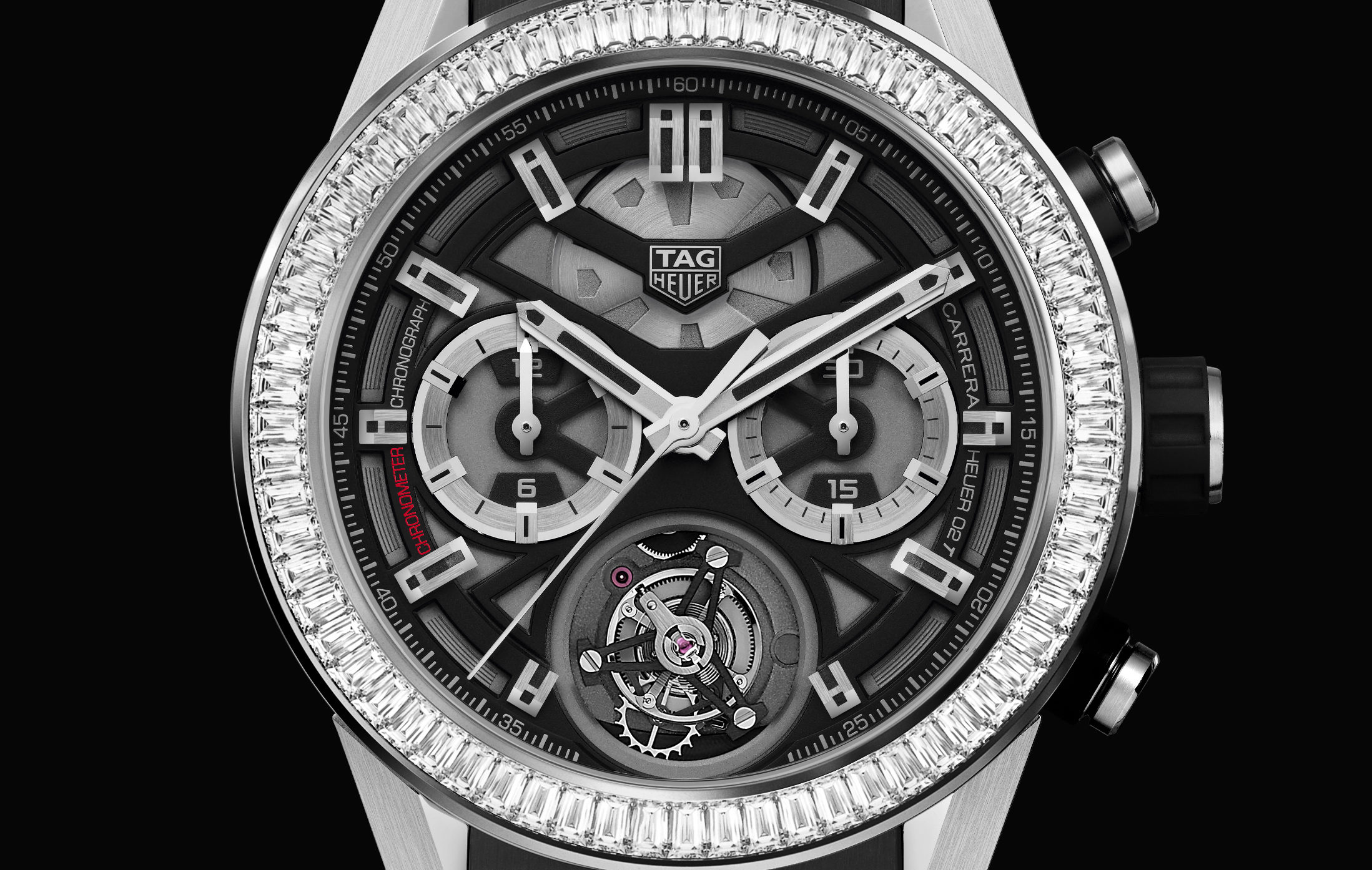 TAG HEUER CARRERA HEUER 02-T DIAMANTS BAGUETTE (4)